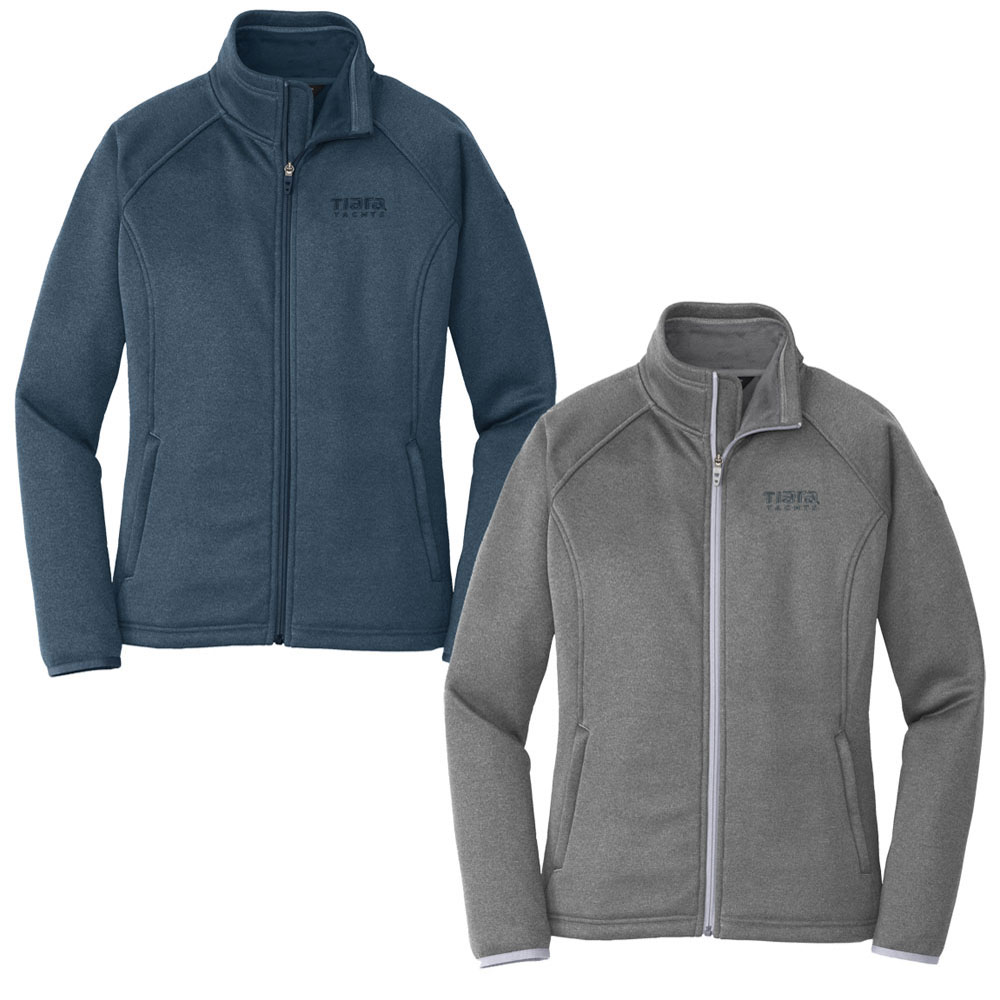LADIES THE NORTH FACE STRETCH FLEECE JACKET